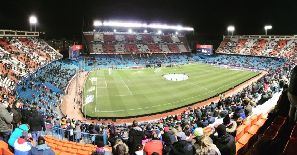 Estadio Vicente Calderón. Enero 2016. Foto: Paula VL