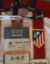 Vicente Calderón. Temporada 17/18